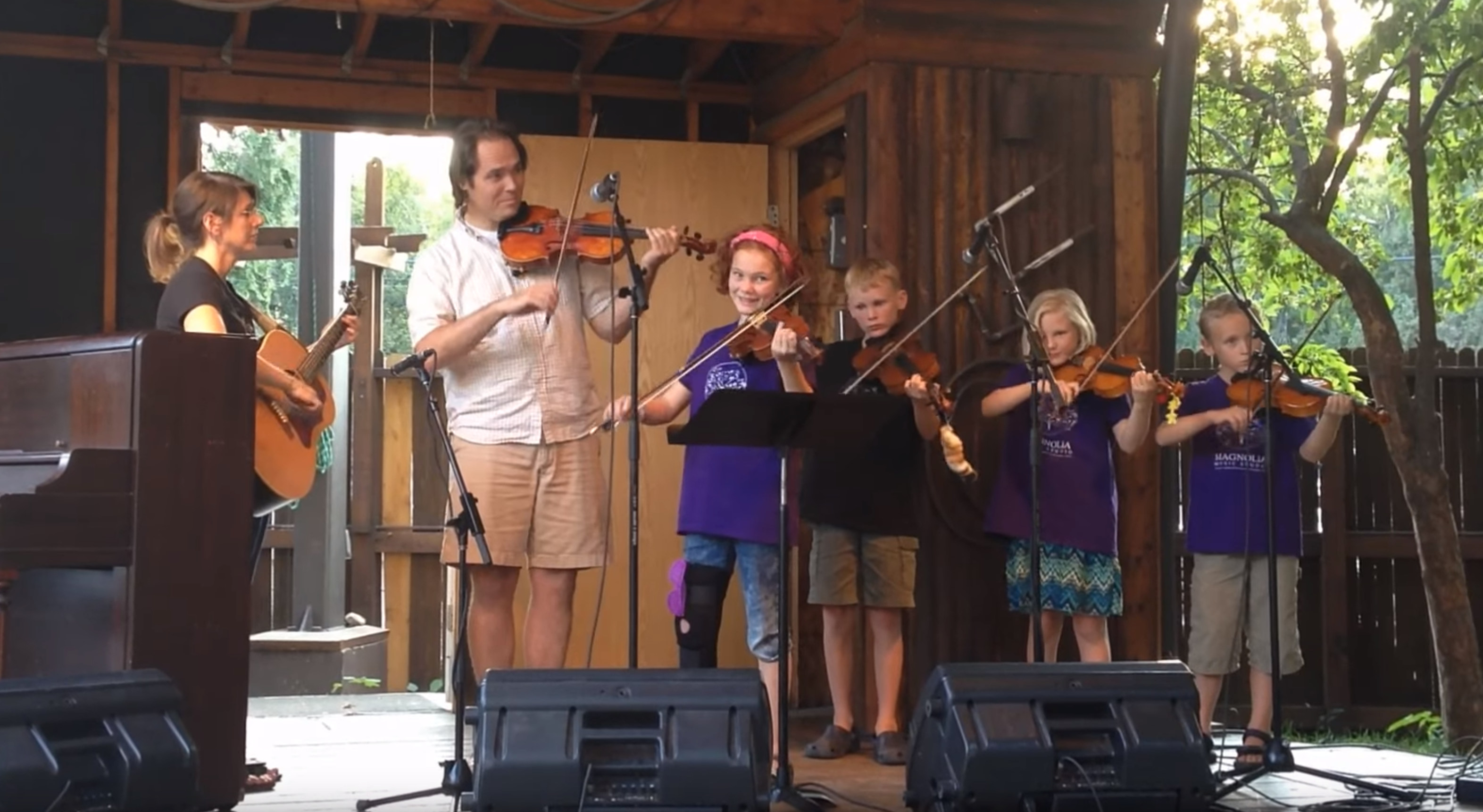 Blazing Fiddles Youth Camp