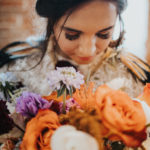 Bride and Bouquet at The Gressiwick