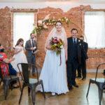 Gorgeous exposed brick wedding venue